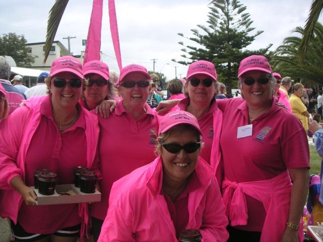 Michelle Dobber, Rosie Wildman, Judy Rafferty, Kate, Janice Cartwright and Robyn Thomas