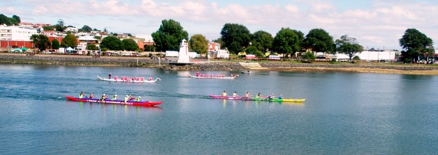 Racing on the Mersey River