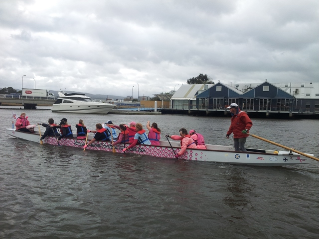 Annual Come and Try Paddle with Dragons Abreast Northern Tasmania Inc.