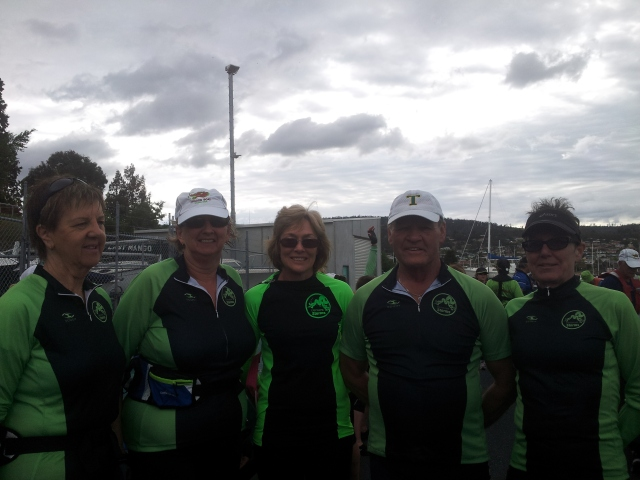 North Esk Dragons Pan Pacs team